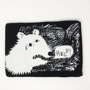 Rare Special Collab Laptop Sleeve Marc Jacobs